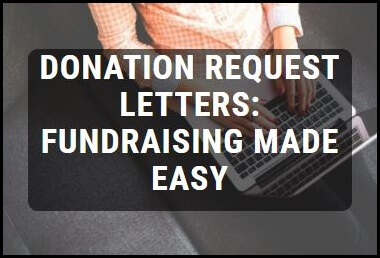 Donation Request Letters: Asking for Donations Made Easy!
