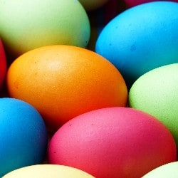 Organize an Easter egg hunt as a family-friendly fundraising idea.