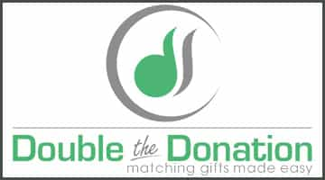 Learn more about matching gifts on Double the Donation's website.