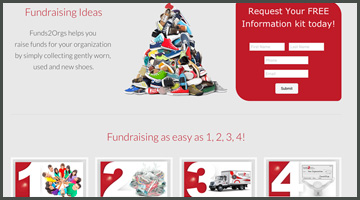 Fundraising Ideas - Shoe Drives