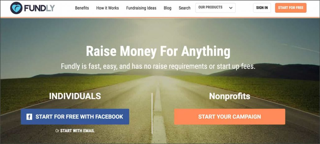 Check out Fundly's website for more crowdfunding information.