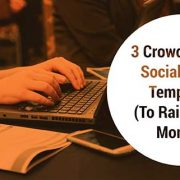 Get 3 social media template to help you share your campaign on social media.