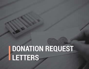 Learn how to write donation request letters.
