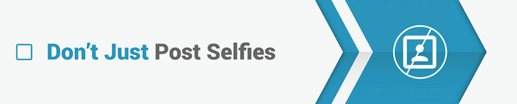 Don't just post selfies - crowdfunding photos tips