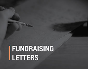 Write fundraising letters to request donations from your supporters.