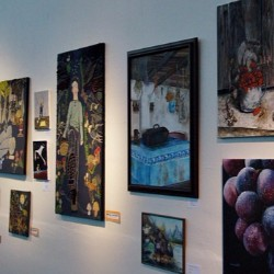 Curate an art show to raise money for cancer research.