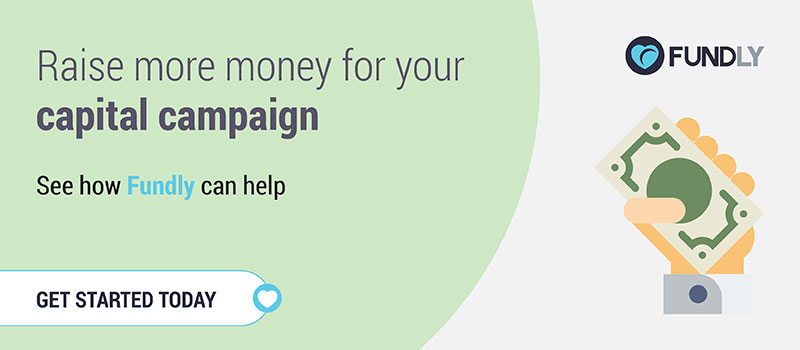 Raise more money for your capital campaign and start a crowdfunding campaign with Fundly!
