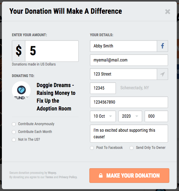 FundlyPro and Double the Donation Integration