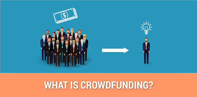What is crowdfunding?