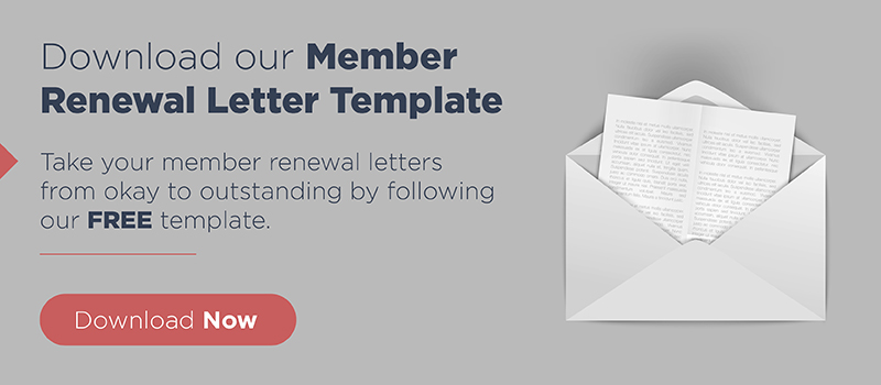 Boost your membership retention with our free renewal letter template!
