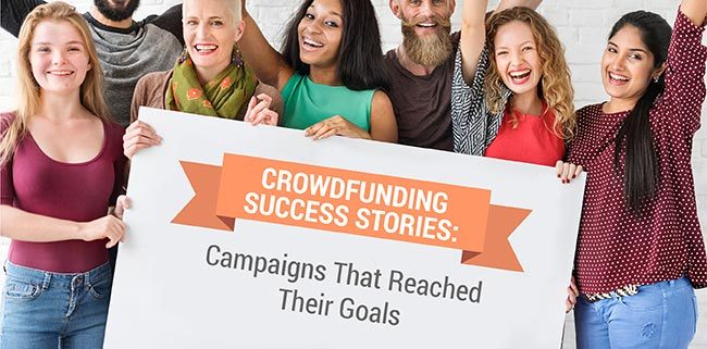 Discover 7 crowdfunding success stories and how they managed to achieve their goals.