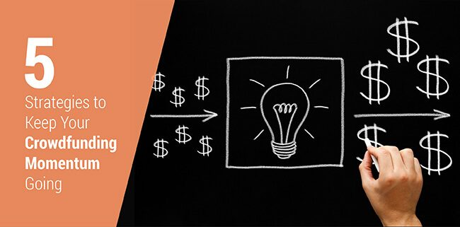 Learn how to keep your campaign's momentum going when you encounter fundraising lulls.