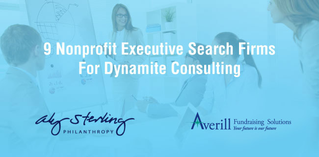Find the best executive search consulting firm for your nonprofit!