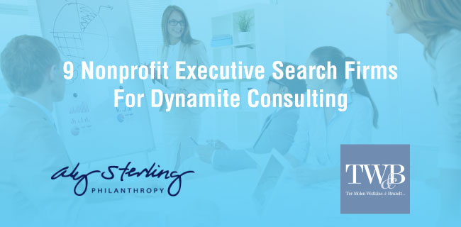 Take a look at these 9 nonprofit executive search firms for dynamite consulting.