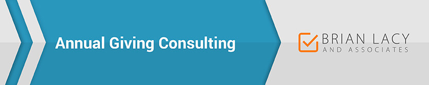 Brain Lacy is a fundraising consulting firm with annual giving services.