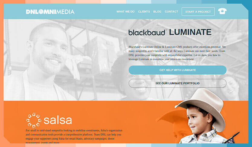 DNL OmniMedia has a whole host of services for organizations looking for technical support.