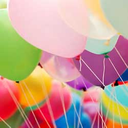 A simple fundraising idea for breast cancer treatment is to host a balloon raffle.