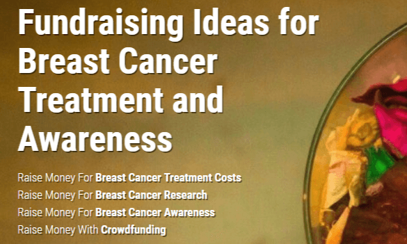 41d4e4a6e 19 Fundraising Ideas for Breast Cancer Treatment   Awareness