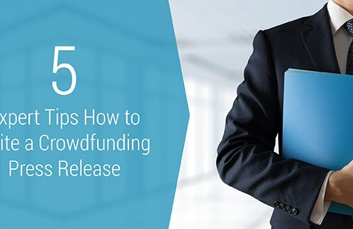 Learn the step to creating a crowdfunding press release.