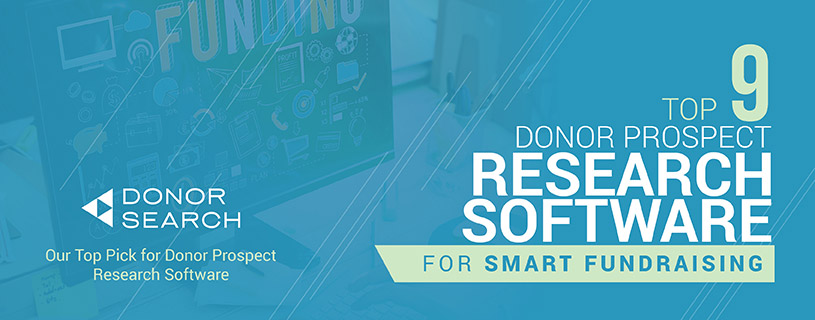 Get the best prospect research software to identify major donors from your crowdfunding campaigns.