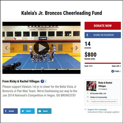 15 Fantastic Fundraising Ideas For Cheerleading Costs