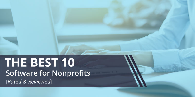 Check out the top 10 nonprofit software.