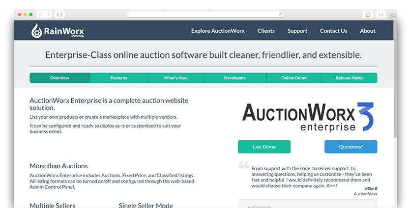 AuctionWorx offers great charity auction software to help nonprofits with auction events.