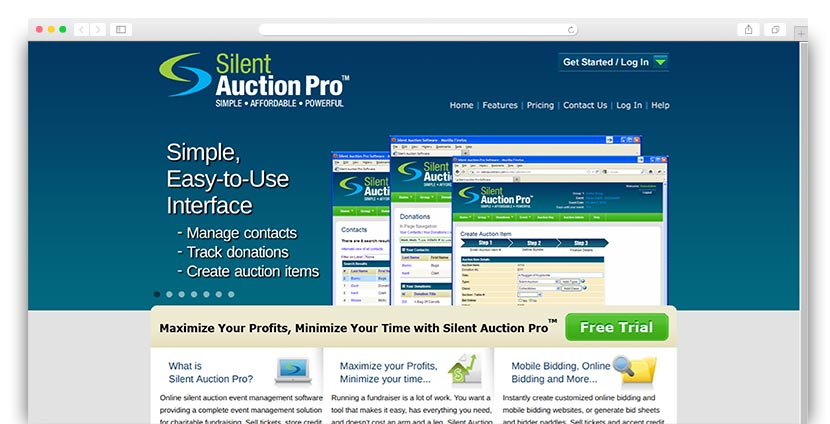 See how SilentAuctionPro's charity auction software can help your organization raise even more funds.