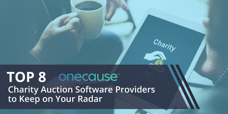 Take a look at our top 8 charity auction software providers that your nonprofit should keep on your radar.