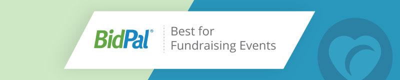 BidPal is the best nonprofit software for fundraising events.
