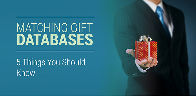 Discover how matching gift databases can boost the impact of donors, nonprofits, and corporate giving programs.