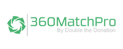360MatchPro is a matching gift database designed for larger nonprofits earning over $10,000 each year in revenue.