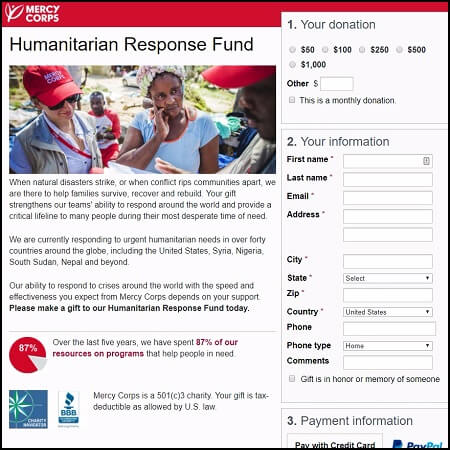 Donate to the Mercy Corps Humanitarian Response Fund to help support Hurricane Irma and Maria relief.
