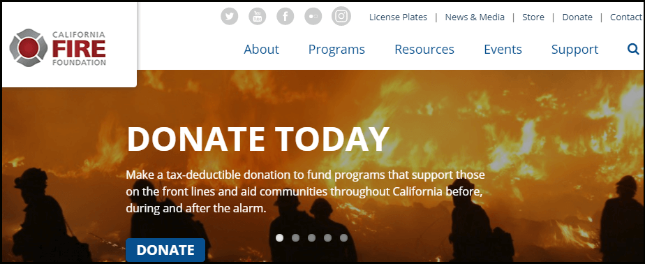 The California Fire Foundation will help firefighters and victims of the Santa Rosa Wildfire.