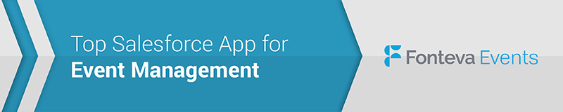 Fonteva Events is the top Salesforce app for planning and managing events.
