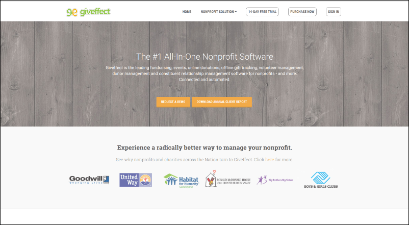 Giveffect's online event registration software will work wonders for your fundraising event.