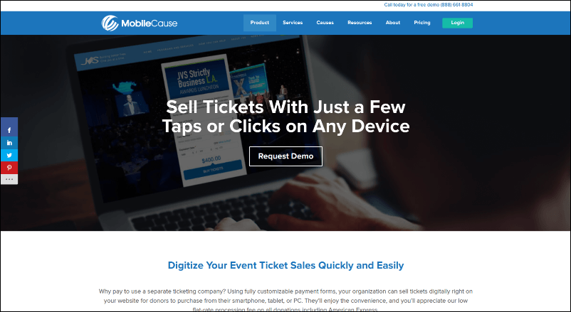 Check out MobileCause's event registration software and see how it can simplify check-in at your nonprofit's next event.