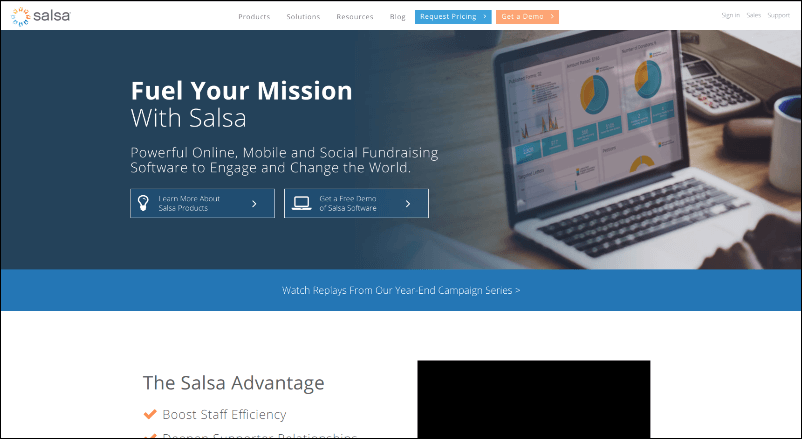 Check out Salsa's online event fundraising software and see what it can do for your organization.