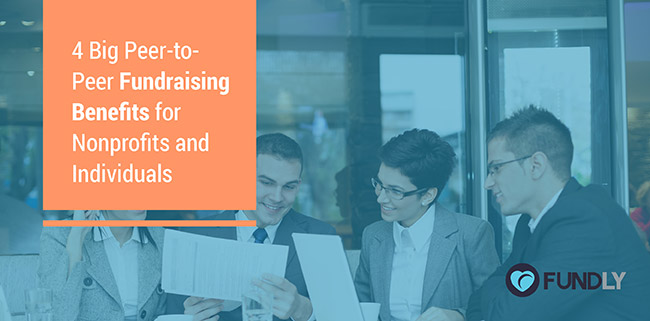 See all the peer-to-peer fundraising benefits and give it a try!