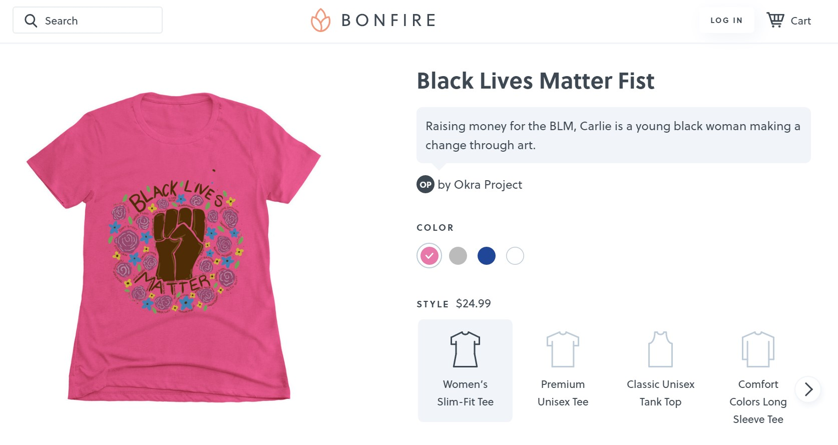 Bonfire is one of our favorite crowdfunding product websites.