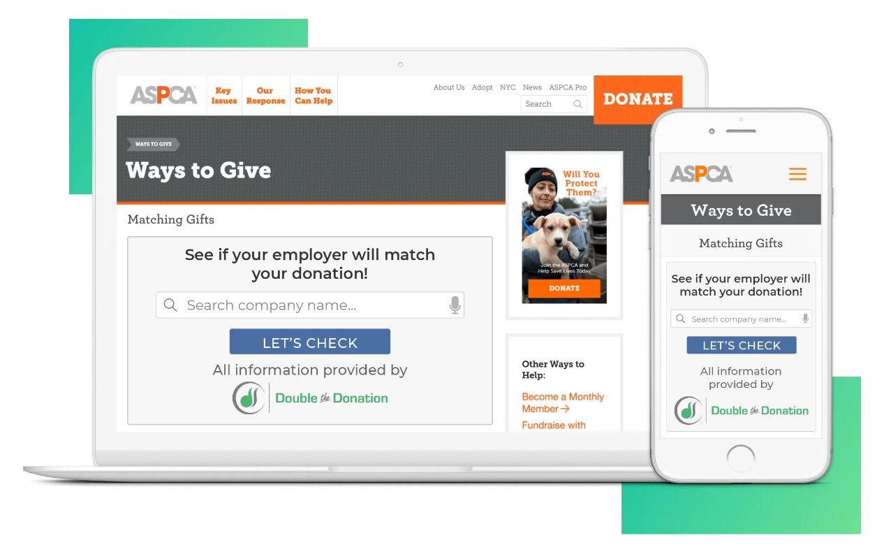 Double the Donation is one of our favorite crowdfunding websites.