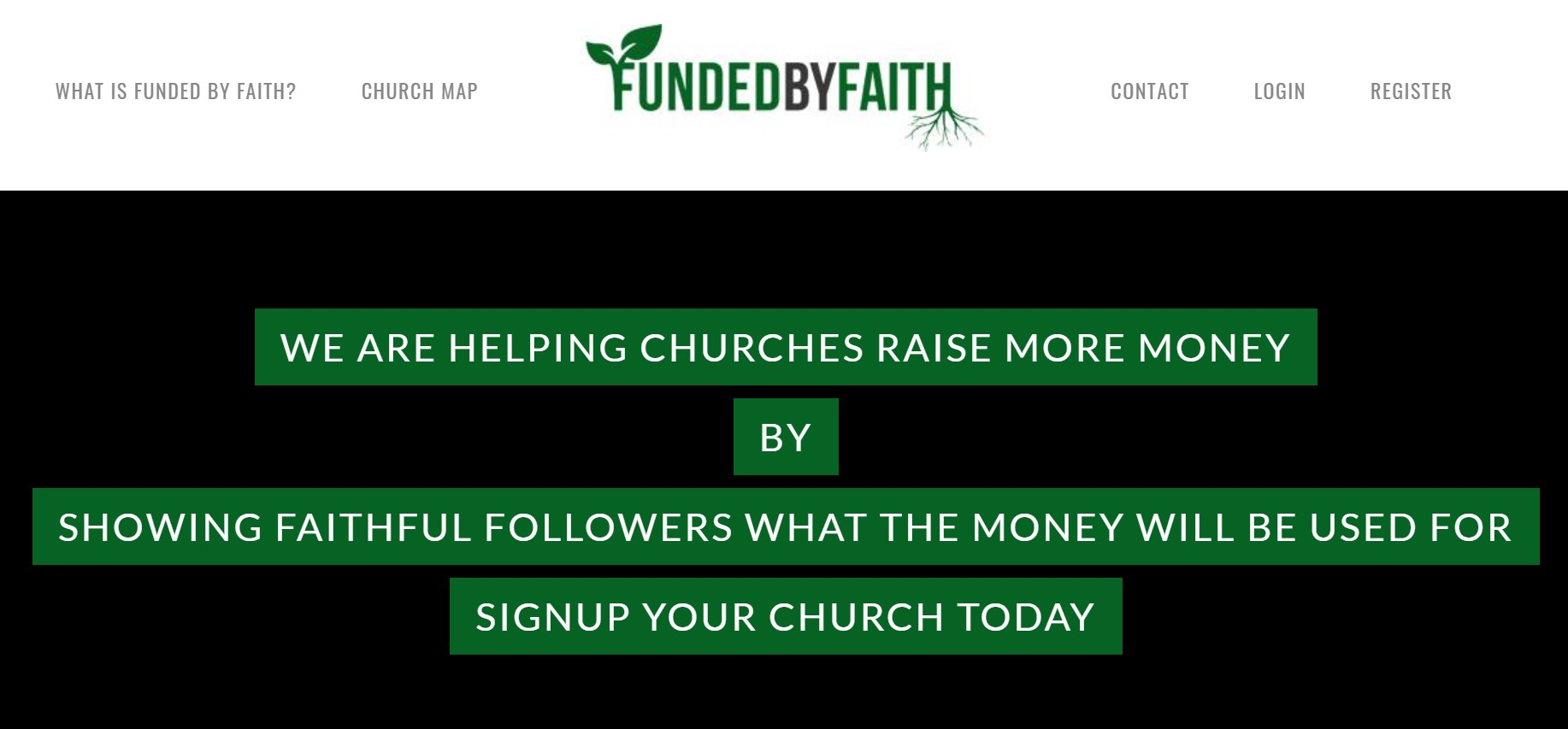 Funded by Faith is one of our favorite crowdfunding websites.