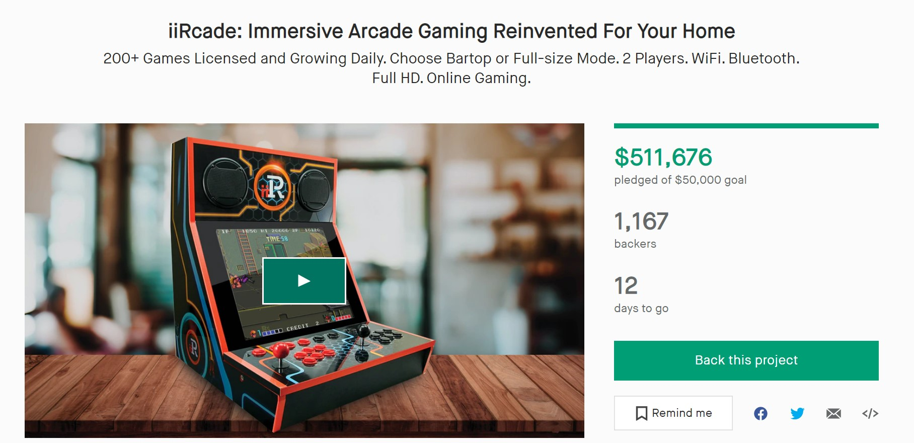 Kickstarter is one of our favorite crowdfunding websites.